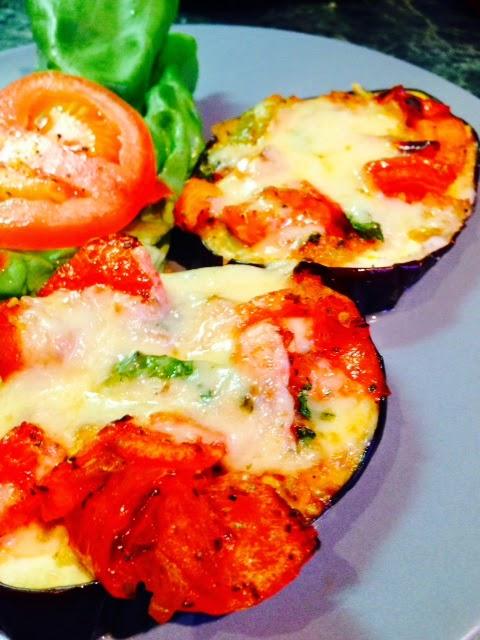 Julia Child's Eggplant Pizzas (Tranches D'aubergine A L ...