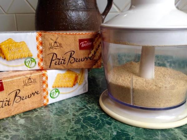 Rozemleté sušenky (sušenková mouka)