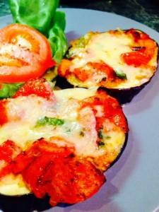 Julia Child's Tranches d'aubergine á l'italienne